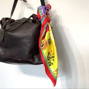 Zara square purse decorative purse hair scarf
